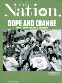 Nation Magazine cover
